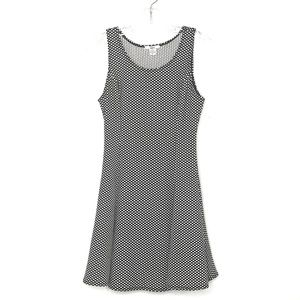 Bar III black & white  polka dot dress -461